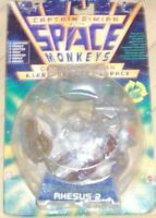 FIGURE VINTAGE 1996 SPACE MONKEYS CAPTAIN SIMIAN-RHESUS 2 monkey,gorilla,scimmie