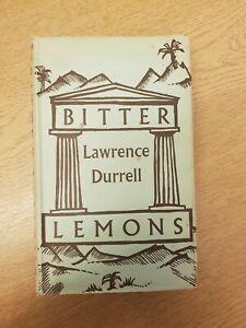 Bitter Lemons By Lawrence Durrell, Faber & Faber 1958 Bk19