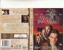 The Man In The Iron Mask-1998-Leonardo-DiCaprio-Movie-DVD