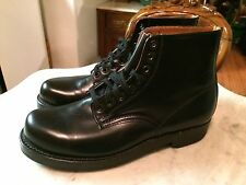 Vtg army parade military officer uniform mens boots 9 gay interest