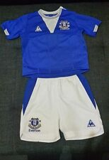 Everton football kit for boys size 2-3 years