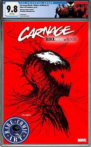 CARNAGE BLACK WHITE AND BLOOD #1 CGC 9.8 PATRICK GLEASON 🔥 PRESALE NM WEBHEAD