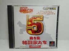 CAPCOM GENERATION 5 V PS1 Playstation