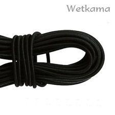 4 Metres of 5 mm Black Elastic Bungee Shock Cord Tie Down for Kayaking Canoeing