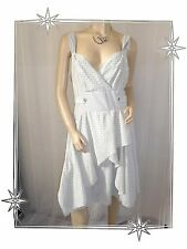 Robe Fantaisie à Bretelles Imprimée  Gris 2026 Modèle Rivage  Taille 4
