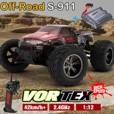 GPTOYS 1/12 S911 2WD 42km/h Car Off Road Remote Control Truck + extra 1Battery