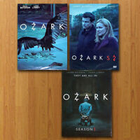 Ozark Season 1 2 3 Complete DVD Set Region 1 US Fast shipping First Class Mail