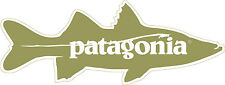 Patagonia Snook Sticker Decal