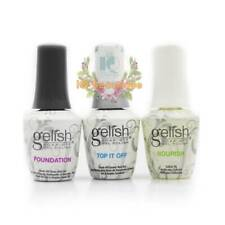 GELISH Harmony Dynamic Duo - Foundation Base + Top Coat + FREE Nourish Oil 3pcs
