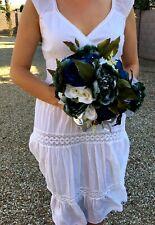 Wedding Bouquet Bridal Bridesmaid Aartificial Flowers  Boutonnière / corsage set