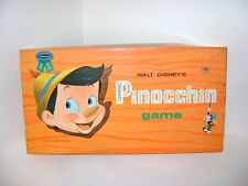 Very Rare Vintage 1962 Whitman Walt Disney Pinocchio Children's Kids Board Game