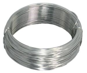 Aluminum Round Armature Wire Choose Gauge - 100 ft. Coil - Hobby, Mask, jewelry,