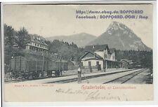 Ansichtskarten aus der Steiermark mit dem Thema Eisenbahn & Bahnhof