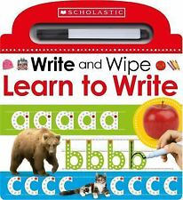Scholastic Early Learners: Learn to Write by Inc. Staff Scholastic (2016, Paperback)