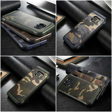 Camouflage Samsung Galaxy S8 Plus Case Military Camo Army Rugged Rubber Slim