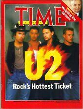 Bono U2 Australia Volta Rivista 4/27/87 ROCK'S più Desiderato Ticket
