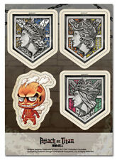 Sticker - Attack On Titan - New Walls & SD Colossal Titan Set Licensed ge55507