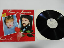 "PIMPINELA LUCIA Y JOAQUIN LP 12"" VINILO 1985 ORIGINAL SPANISH  PRESS EPIC VG+/VG"