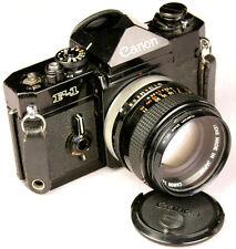 Vintage CANON F-1 35mm SLR Body + 50mm Lens
