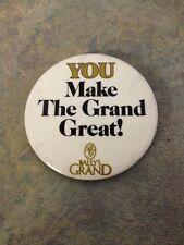 Bally'S Grand Promo Button Dealer Button 'You Make the Grand Great!'