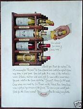 Original 1963 Advertisement CRUSE French Wine