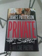 Private by James Patterson and Maxine Paetro (2012, Hardcover) Book