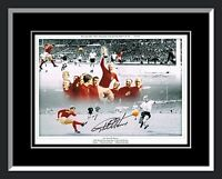 New Geoff Hurst England Signed And Framed Football Photograph B