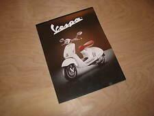 Vespa Piaggio 2014 all models dealer brochure ENGLISH