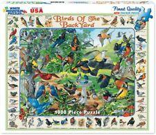 "White Mountain ""BIRDS OF THE BACKYARD"" Puzzle - 1000 Pieces Sealed"