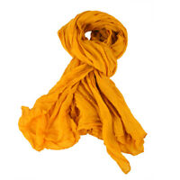 Supersoft Scarf Yellow Feel Scarves for Women Men Brand Designer Scarf #HF0