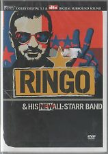 RINGO STARR AND HIS NEW ALL STARR BAND DVD F.C. BEATLES SEALED!!!