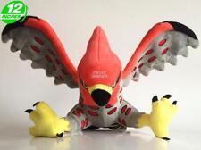 Big 12 inches Pokemon Talonflame Plush Stuffed Doll Soft PNPL8200 Red Grey