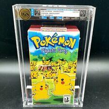 AWU 1998 Pokemon Vol. 12 Pikachu Party - graded sealed volume psa vhs 9 8 7 10