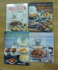 x4 Halogen Baking Books/Sarah Flower - Baking-One Pot-Complete-Everyday