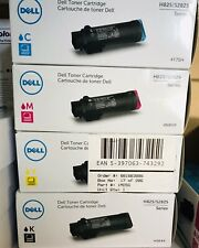 4 x Original Toner Dell H825 S2825/4Y75H H5K44 4NRYP 1MD5G High Capacity Set