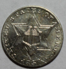 1857 3 Cent Silver WR50