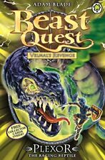 Beast Quest: 85: Plexor the Raging Reptile, Blade 9781408334911 Free Shipping..