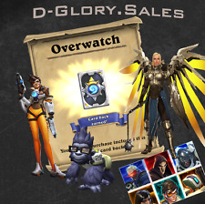 Overwatch Origins: Digital Goodies (Hearthstone Card Back,Diablo 3 Wings & more)