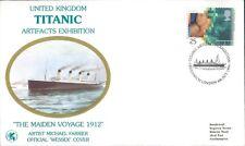 U.K Titanic Artifacts Exhibition Souvenir Cover