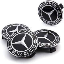 4x Radnabenabdeckung für Mercedes-Benz Radzierkappen Nabenkappen Felgendeckel