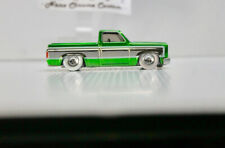 Hot Wheels 83 Silverado Green spectraflame Custom ( Read Des.)