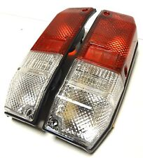 For Toyota Land Cruiser FJ 75 Rear Tail Signal Lights Lamp Set Red - White 1 SET