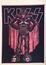 RARE! '77 1976 KISS vTg AUCOIN Orig Destroyer Love Gun PHOTO t-shirt iron-on NOS