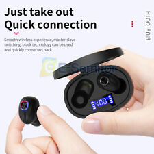 New listing Wireless Bluetooth 5.0 Tws Earphones Stereo In Ear Earbuds For Ios Andriod Us