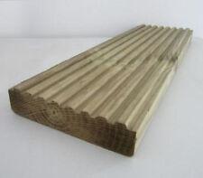 28x145mmx4.8mTreated Scandinavian Redwood Deck Board Type3 del Scotland&SkyeOnly