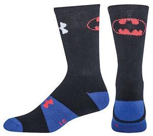 Under Armour Kids Youth Superhero Socks: Superman Batman Spiderman Ironman