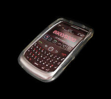 LOT OF 2 NEW CLEAR WHITE BLACKBERRY CURVE 8900 9300 SOFT PLASTIC CASES