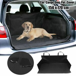 Waterproof Pet Dog Car Rear Seat Cover Boot Trunk Protector Mat Liner  。