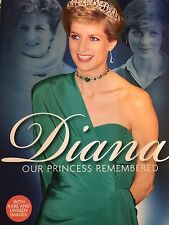 PRINCESS DIANA - DIANA OUR PRINCESS REMEMBERED - MAGAZINE - PHOTOS *MEGA RARE*