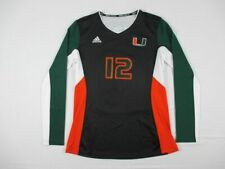 adidas Miami Hurricanes - Women's Black Long Sleeve Shirt (L) - Used